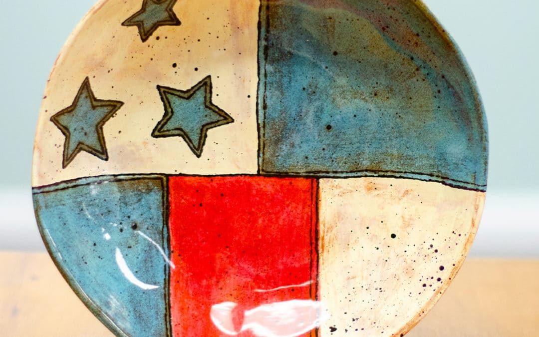 Star Spangled Plate